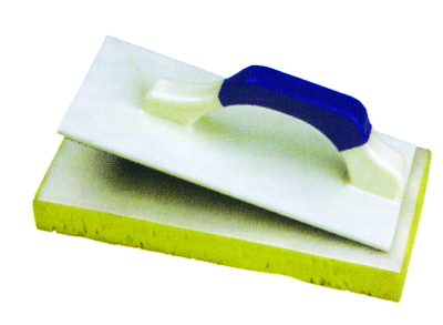 Trowels with velcro hook sponge