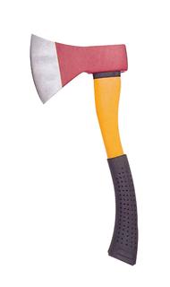 Axe with fibergalss handle