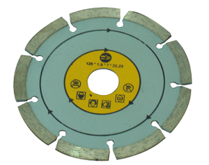 Turbo diamond cutting blade