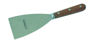 Putty knives with high quality wooden handle
